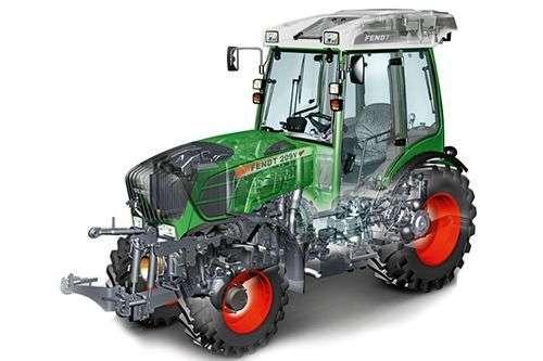 Ciągnik sadowniczy Fendt 200 Vario VFP