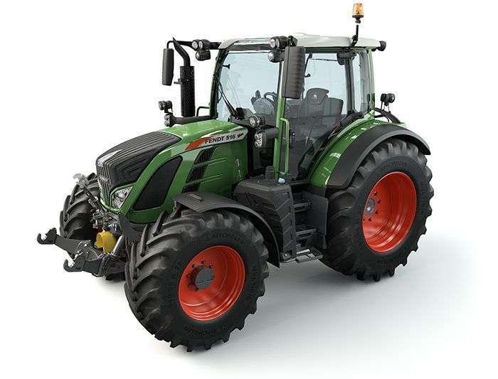 Ciągnik rolniczy Fendt 500 Vario