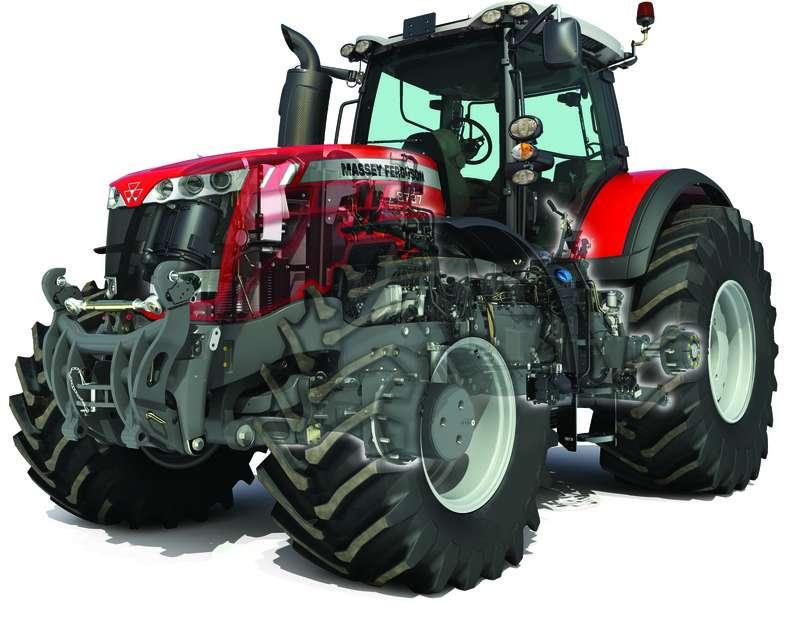 ciągnik rolniczy Kluczowe cechy ciągników MF serii 8700