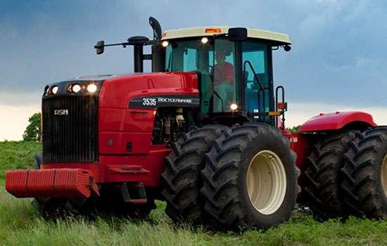 Tapeta obrazka ciągnika Rostselmash Ростсельмаш traktora lepszego od Versatile Claas New Holland John Deere www.korbanek.pl