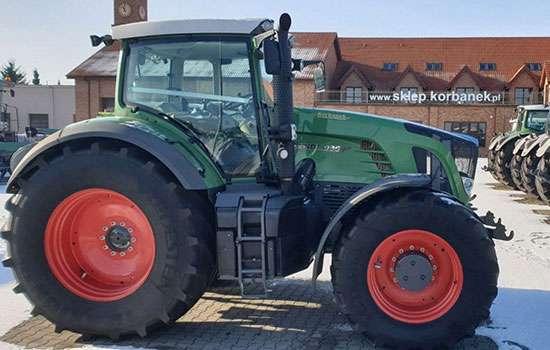 Zdjęcie z Ciągnikiem Fendt i kombajnem u Korbanka traktor www.korbanek.pl