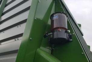 Centralne smarowanie podbieracza i rotora