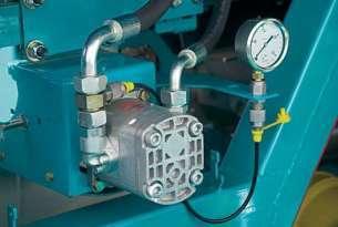 Napęd hydrauliczny turbiny