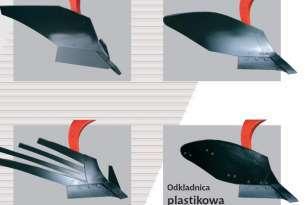 Odkładnice półśrubowe, ażurowe w pługach Gregoire Besson oferowanych przez firmę Korbanek