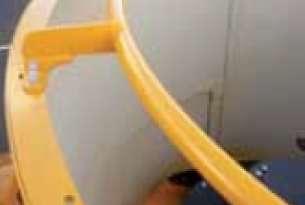 Pierścień zabezpieczający przed wysypywaniem paszy dostępny jako wyposażenie opcjonalne