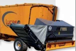 Podajnik taśmowy elewatorowy jako wyposażenie dodatkowe Spirmix Jet, dostępnego w ofercie firmy Korbanek