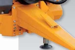 Zaczep sztywny z regulowaną wysokością w 3 pozycjach, Wyposażenie dodatkowe Castor G