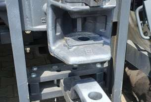 Zaczep automatyczny na ciągniku arbos serii 5000