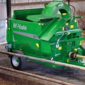 Scielarka McHale C460 karmienie bydła na www.korbanek.pl