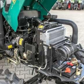 Wydajny silnik w maszynie Arbos 2025 pali mało