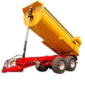 Budowlana przyczepa rolnicza PBN 20 R Metaltech sprzedawana przez firmę Korbanek