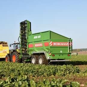 Bergmann RRW 400 w pracy na polu