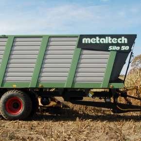 Przyczepa objętościowa SILO 40, 50 są produkowane przez Metaltech w ofercie firmy Korbanek