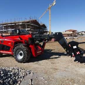 Faresin ładowarka teleskopowa serii BIG na placu budowy