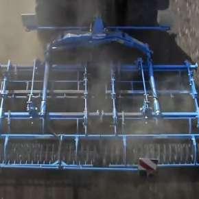 Lemken Kompaktor na polu z góry