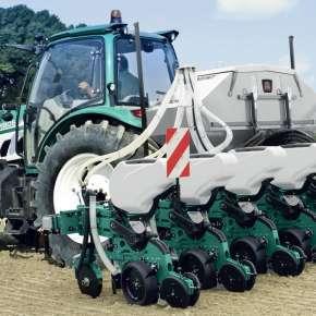 Siewnik punktowy do kukurydzy 8-rzędowy