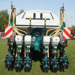Siewnik punktowy do kukurydzy 6-rzędowy