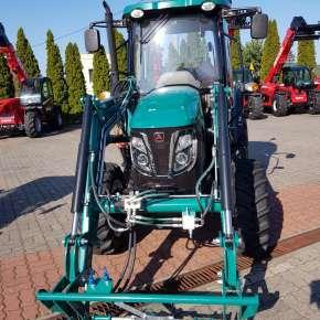 Widok przedni wysięgnika Xtreme S firmy Hydramet w ramką do elementów roboczych w standardzie EURO www.korbanek.pl