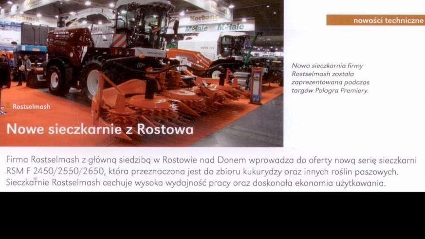 Sieczkarnia Rostselmash