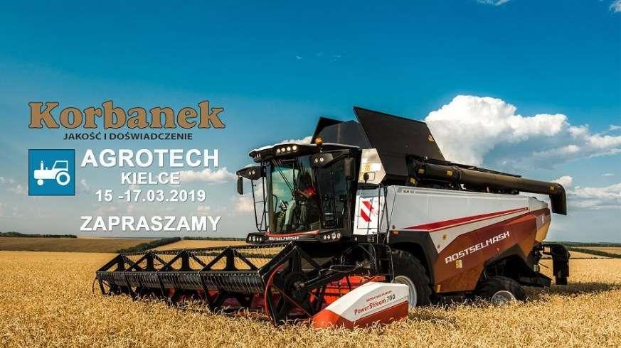 Agrotech Kielce 2019 - Kombajn zbożowy