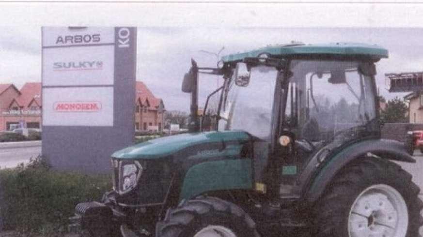 Ciągnik Arbos z oferty firmy Korbanek
