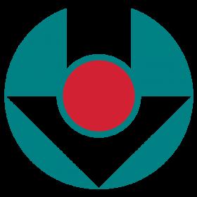 Znak logo SULKY zielono czerwony