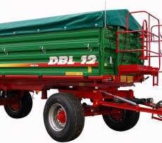 Zdjęcie przedstawiające przyczepę Metaltech DBL 12, dystrybuowanej przez firmę Korbanek.