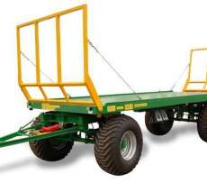 Zdjęcie przedstawiające przyczepę rolnicza do bel PB z firmy Metaltech, sprzedawana przez firmę korbanek.pl.