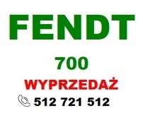 Wyprzedaz kolor czerwony Fendt kolor zielony wszystko na białym tle