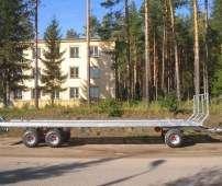 Przyczepa rolnicza do bel firmy cynkomet typ T-608