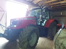 Używany ciągnik rolniczy MF 7615