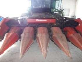 przystawka do kukurydzy Geringhoff 6-rzędowa czerwona składana