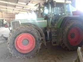 Ciągnik rolniczy Fendt 822 - używany, widok na lewy bok