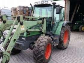 Używany ciągnik rolniczy Fendt 309 z zamontowanym ładowaczem czołowym