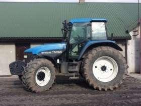 Ciągnik rolniczy New Holland TM 165  kupiony w polsce