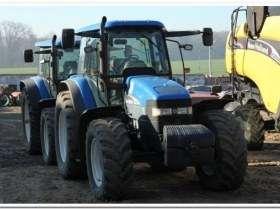 Ciągnik rolniczy New Holland TM 175 używany na korbanek.pl