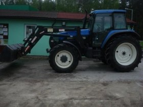 Traktor New Holland TM 125 2001 rok produkcji