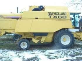 Kombajn zbożowy New Holland TX 68 PLUS moc 325 KM