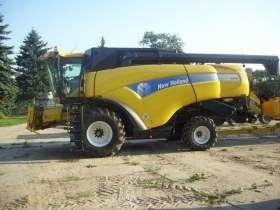 Kombajn New Holland CX880 używany na korbanek.pl