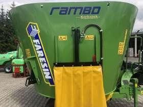 Wóz paszowy Faresin Rambo 1100 z boku