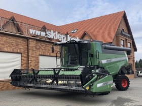 Heder FT 620 PowerFlow z 2 kosami do zbioru rzepaku w kombajnie do zbioru zbóż  Fendt 6335 C