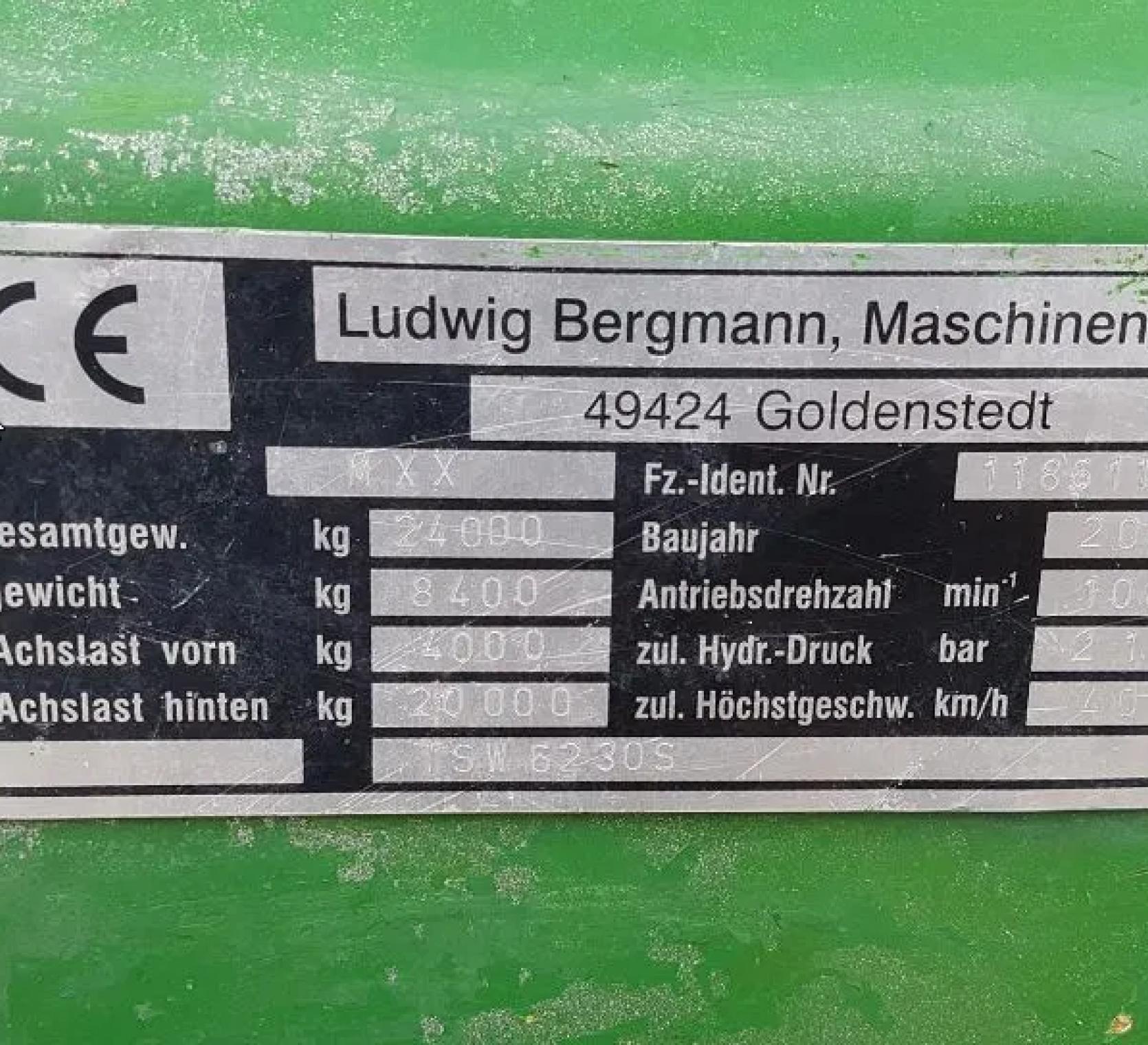 Bergman TSW 6230 S parametry