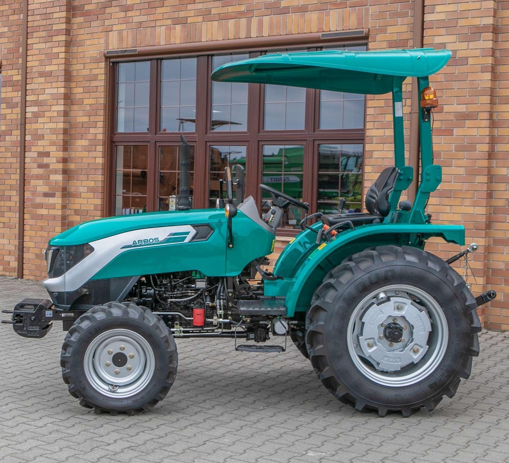 Traktor Arbos 2025, bez kabiny do kupienia w firmie Korbanek.