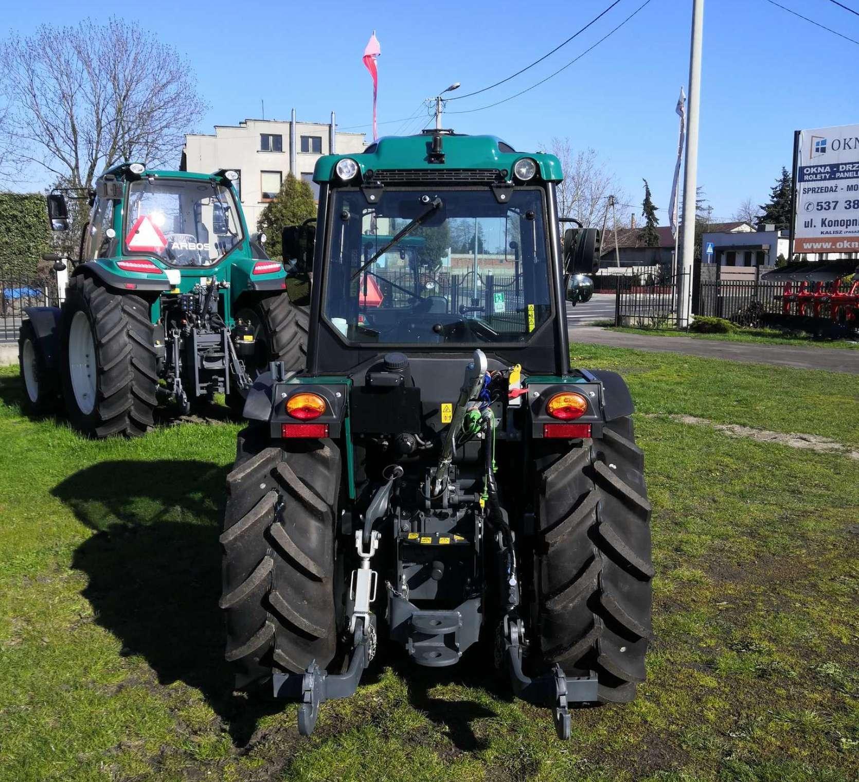 Traktor 4100AF tylny TUZ do sadu