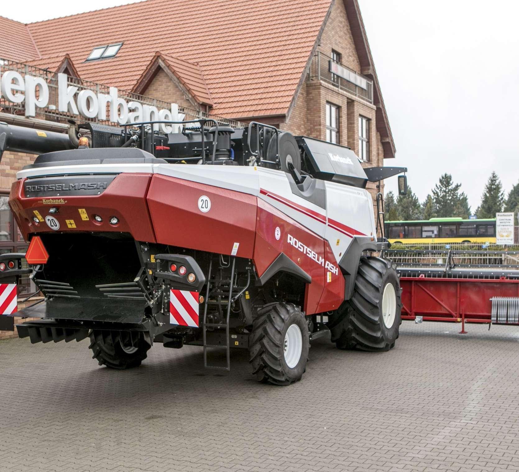 Kombajn zbożowy Rostselmash RSM 161 heder 7 metrów promocja korbanek.pl