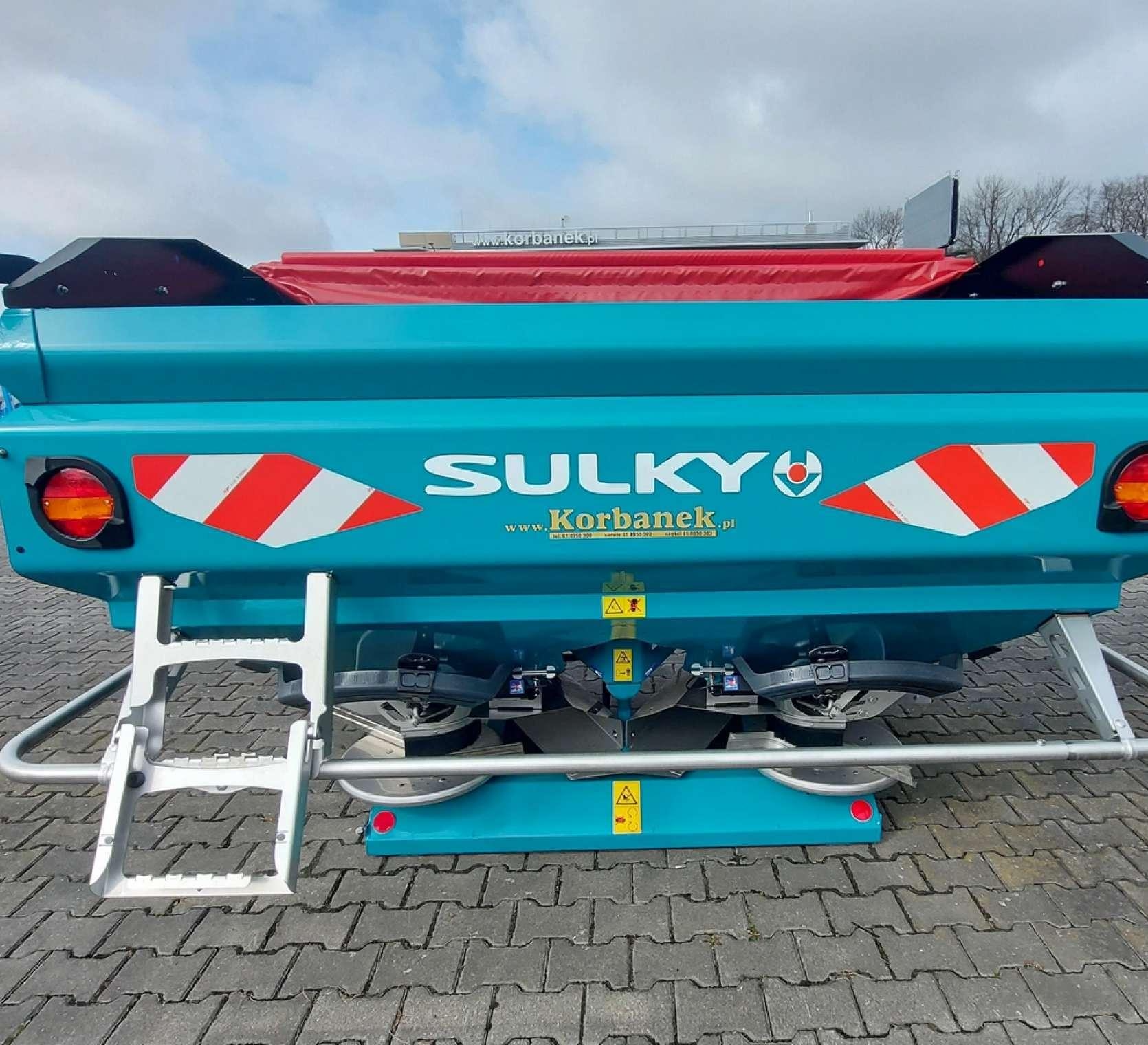 Rozsiewacz nawozów 2500 litrów X40+ Econov ISOBUS