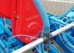 Turbina plus pneumatyczny układ do czyszczenia otworów tarczy wysiewających