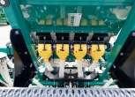 Dozowniki napędzane elektrycznie siewnik zbożowy 6 metrów