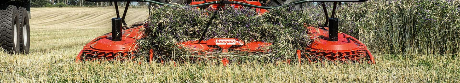 Kemper-przystawka do kukurydzy w pracy