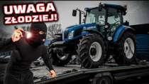 Embedded thumbnail for Złodzieje KRADNĄ drogie ciągniki METODA na KLONA